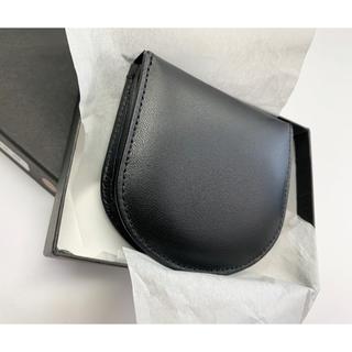 牛革製コインケース 未使用新古品 日本製 ブラック(コインケース/小銭入れ)