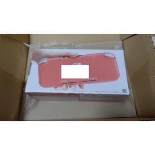 ニンテンドースイッチ(Nintendo Switch)の【新品】ニンテンドー スイッチ ライト コーラル Switch Lite(携帯用ゲーム機本体)