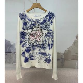 ディオール(Dior)の【Dior】秋冬新作 カシミア クルーネック セーター(ニット/セーター)