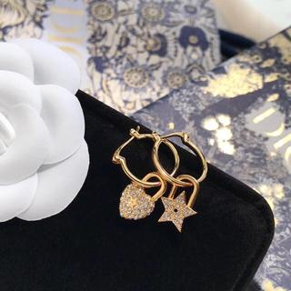 ディオール(Dior)のクリスチャンディオール  ディオール dior  ピアス(ピアス)