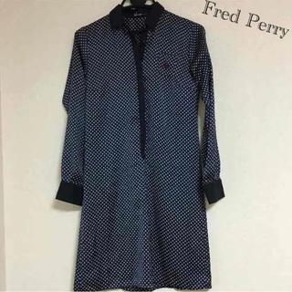 フレッドペリー(FRED PERRY)のfred perryシャツワンピ(ひざ丈ワンピース)