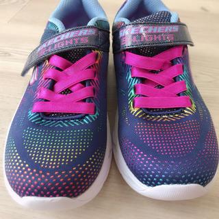 SKECHERS - 【新品】【送料無料】光る スニーカー SKECHERS キッズ 19cm 靴