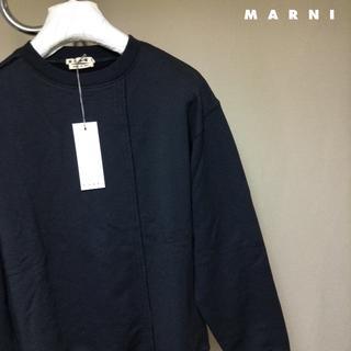 マルニ(Marni)の新品■50■MARNI 19ss■再構築スウェット■黒■ブラック■9112(スウェット)