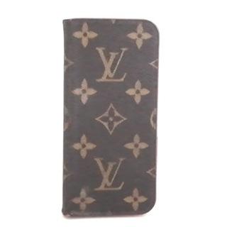 ルイヴィトン(LOUIS VUITTON)のルイヴィトン 携帯電話ケース モノグラム(モバイルケース/カバー)