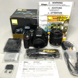 Nikon - Nikon D5300 AF-P 18-55レンズKIT1565ショット保証付き