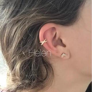 プラージュ(Plage)のcross stone ear cuff(イヤーカフ)