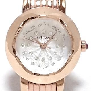 ジルスチュアート(JILLSTUART)のジルスチュアート 腕時計 - VC01-0110 白(腕時計)
