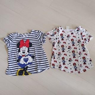エイチアンドエム(H&M)の子供服 80 H&M 2枚セット(Tシャツ)
