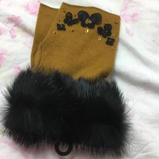 アナスイ(ANNA SUI)の新品アナスイ ANNA SUI 指無し手袋 スマホ使いやすい(手袋)
