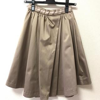 ココディール(COCO DEAL)のココディール サテンスカート(ひざ丈スカート)