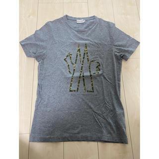 MONCLER - モンクレール Tシャツ グレー 迷彩 Sサイズ美品