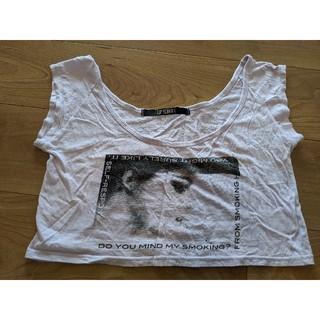 リップサービス(LIP SERVICE)のLIP SERVICE 重ね着用Tシャツ へそ出し(Tシャツ(半袖/袖なし))