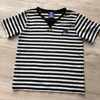 チャンピオン(Champion)の130 チャンピオン ボーダー Tシャツ しまむら(Tシャツ/カットソー)