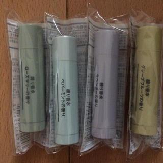 ムジルシリョウヒン(MUJI (無印良品))の無印良品 練り香水4点セット(その他)