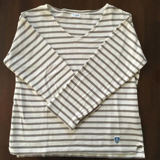 ORCIVAL - 美品 オーシバルバスクシャツ Vネック