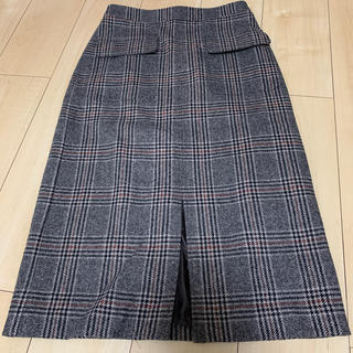 スピックアンドスパン(Spick and Span)のSpick &span ウールスカート38(ひざ丈スカート)