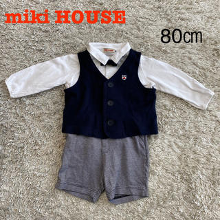 mikihouse - ミキハウスmikiHOUSE フォーマル 男の子 80センチ