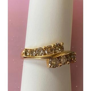 K18 ダイヤモンド リング 1ct 指輪(リング(指輪))