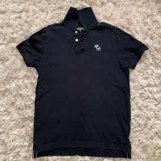 NY購入★Abercrombie & Fitchポロシャツ  ネイビー L