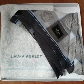 ローラアシュレイ(LAURA ASHLEY)のハンカチタオル2枚セット(ハンカチ/ポケットチーフ)