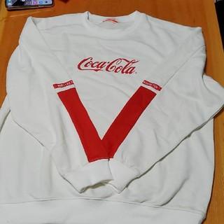 コカコーラ(コカ・コーラ)のコカ・コーラ トレーナー XL(パーカー)