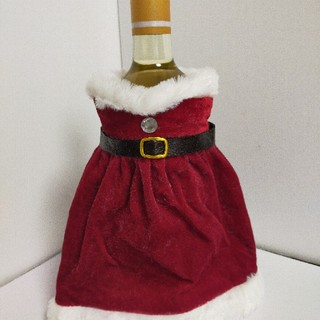 クリスマス用ワインボトルカバー(その他)