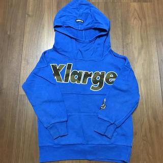 エクストララージ(XLARGE)のXLARGE KIDS 長袖スウェットパーカー★5T(Tシャツ/カットソー)