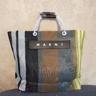 Marni - Marni マルニ ストライプバッグ ソフトベージュ
