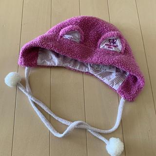 アナスイミニ(ANNA SUI mini)のANNA SUI mini ベビーサイズ猫耳帽子(帽子)