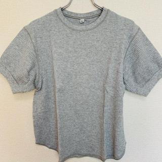 UNIQLO - UNIQLO/半袖ワッフル Tシャツ トップス