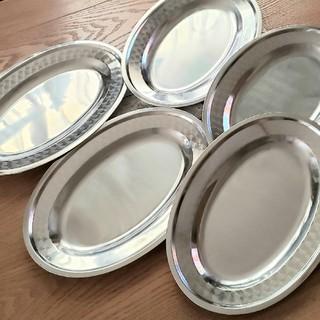 ステンレス 皿 トレイ 5枚 セット 新品