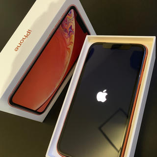 Apple - 【値下げ中】iPhone XR コーラル 本体