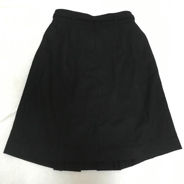 QUEENS COURT(クイーンズコート)のQUEENS COURT ベルト付きスカート レディースのスカート(ひざ丈スカート)の商品写真