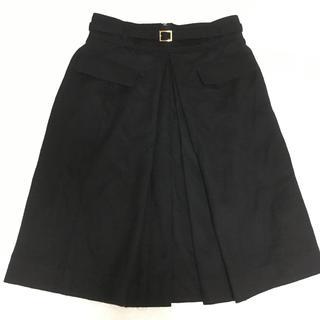 QUEENS COURT - QUEENS COURT ベルト付きスカート