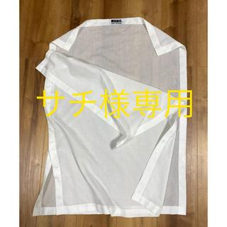 イッセイミヤケ(ISSEY MIYAKE)のイッセイミヤケ 変形トップス スナップ付き (シャツ/ブラウス(半袖/袖なし))