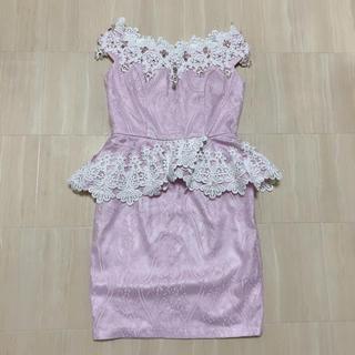 デイジーストア(dazzy store)のディジーストア 花柄 刺繍 ペプラムドレス(ナイトドレス)