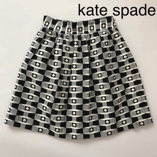 kate spade new york - 美品 ★ ケイトスペード  スカート ジャガード