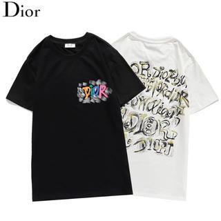 Christian Dior - ✨\2枚7500/ディオールDIOR半袖Tシャツペアルック#09