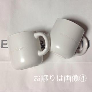 ディーンアンドデルーカ(DEAN & DELUCA)の新品 DEAN&DELUCA 限定 コーヒーマグカップ(マットホワイト) ペア(グラス/カップ)