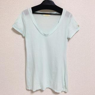 スナイデル(snidel)のロゴ刺繍Tシャツ(Tシャツ(半袖/袖なし))