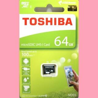 トウシバ(東芝)の東芝 microSDカード 64GB  マイクロSD(その他)