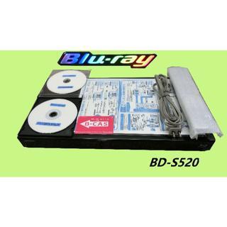シャープ(SHARP)のシャープブルーレイレコーダー【BD-S520】(ブルーレイプレイヤー)