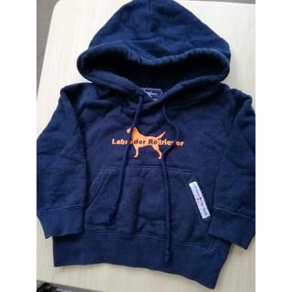 ラブラドールリトリーバー(Labrador Retriever)のラブラドール リトリーバー パーカー 80cm(Tシャツ/カットソー)