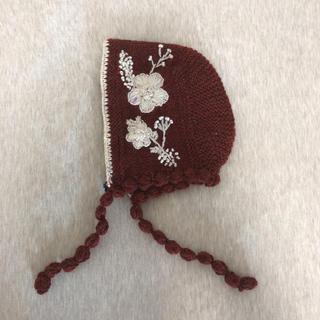 コドモビームス(こども ビームス)のkalinka  ボンネット(帽子)