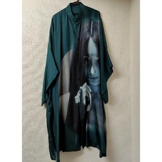 Yohji Yamamoto - Yohji Yamamoto 18ss 内田すずめ ゆびきり シルクシャツ