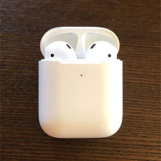 Apple - 美品 Apple アップル AirPods [MRXJ2J/A] 第2世代