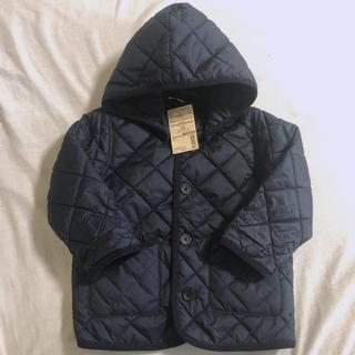 ムジルシリョウヒン(MUJI (無印良品))の無印良品 100cm アウター 洗える中わた キルティングジャケット(ジャケット/上着)