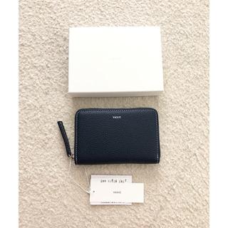 トゥモローランド(TOMORROWLAND)のVASIC Round mini ミニ財布 コインケース カードケース ネイビー(コインケース/小銭入れ)