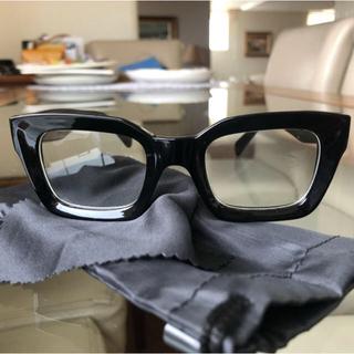 オシャレ 伊達メガネ 黒縁眼鏡