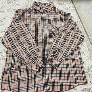 RETRO GIRL - オーバーサイズ チェックシャツ